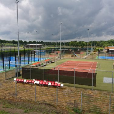 Tennis en padelpark